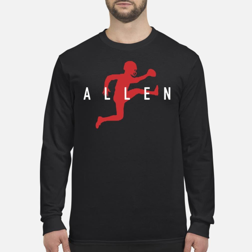 Football Air Jordan Allen shirt Long sleeved