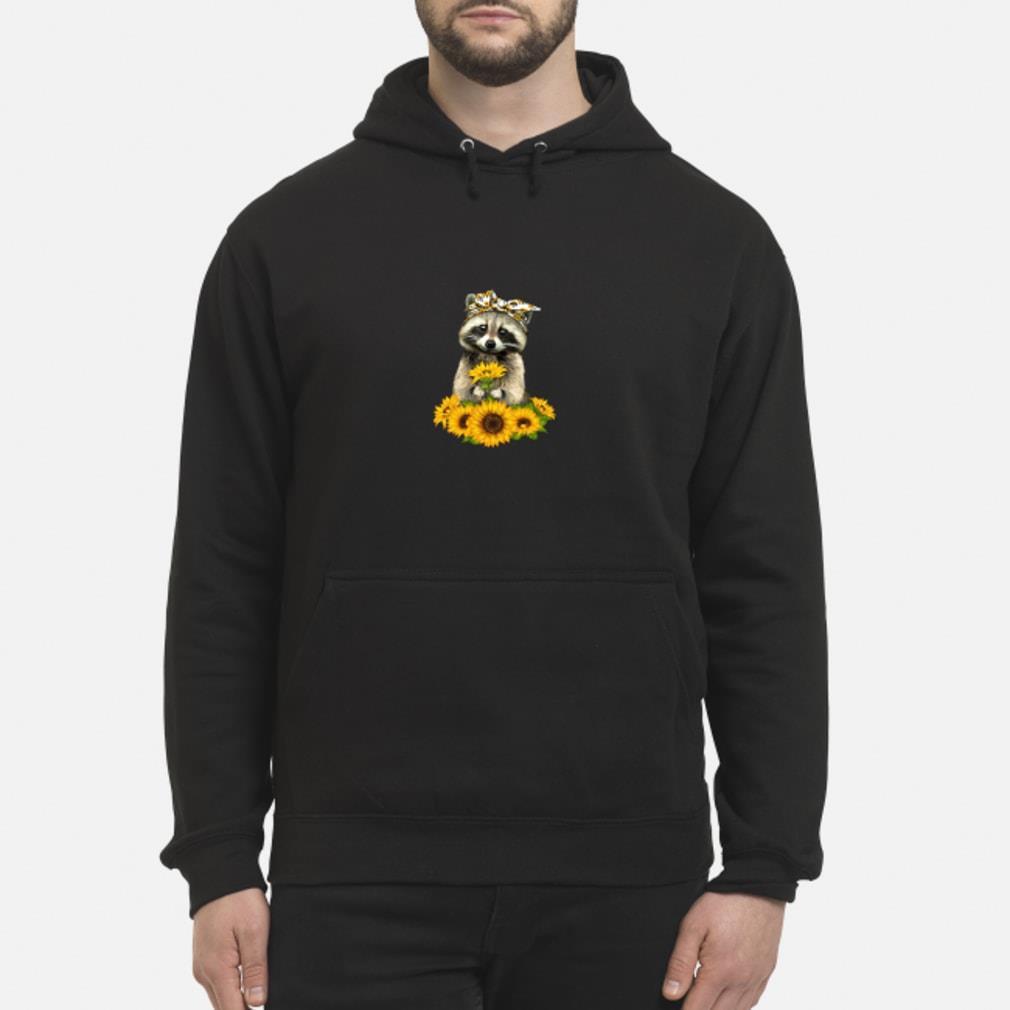 Fox and sunflower Shirt hoodie