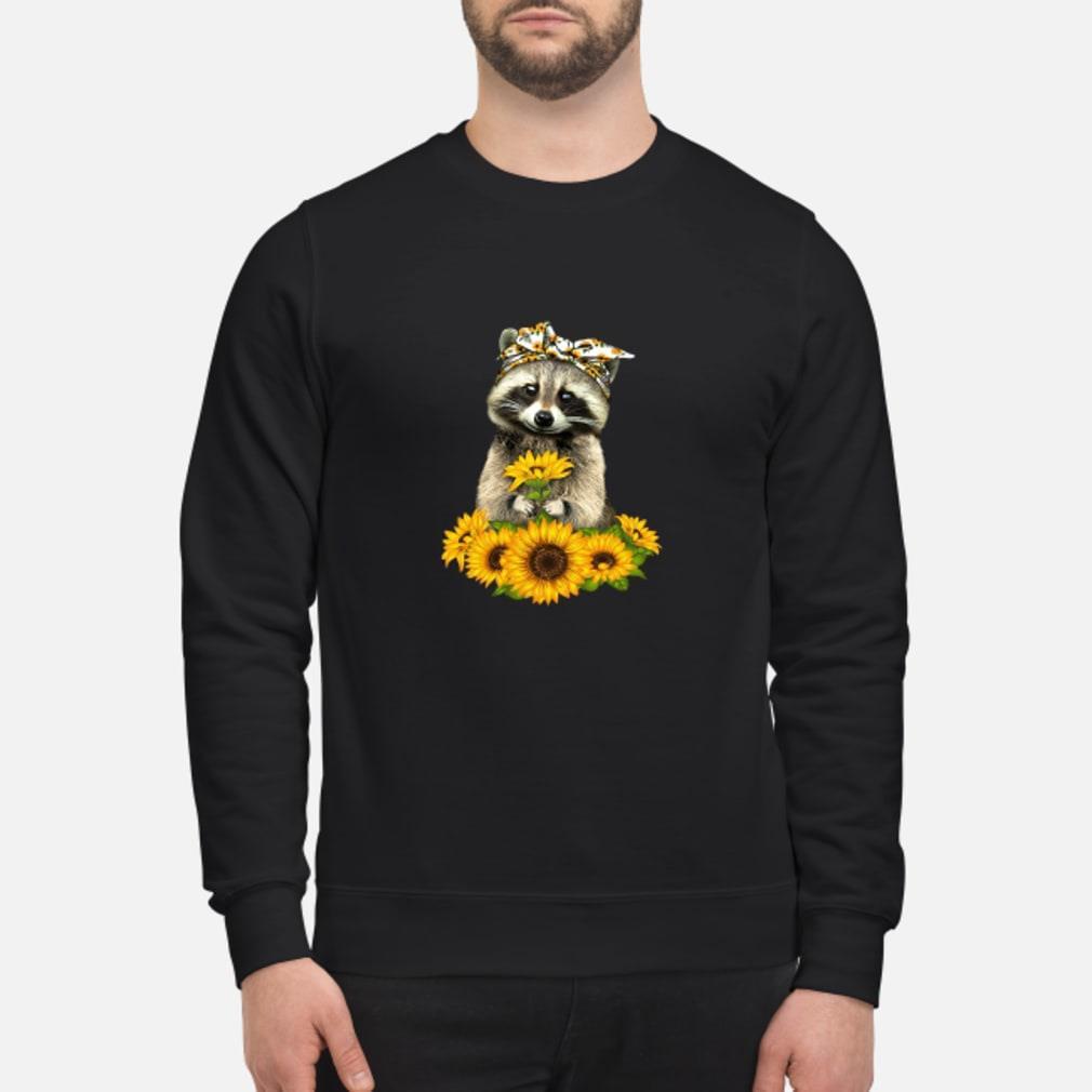 Fox and sunflower Shirt sweater