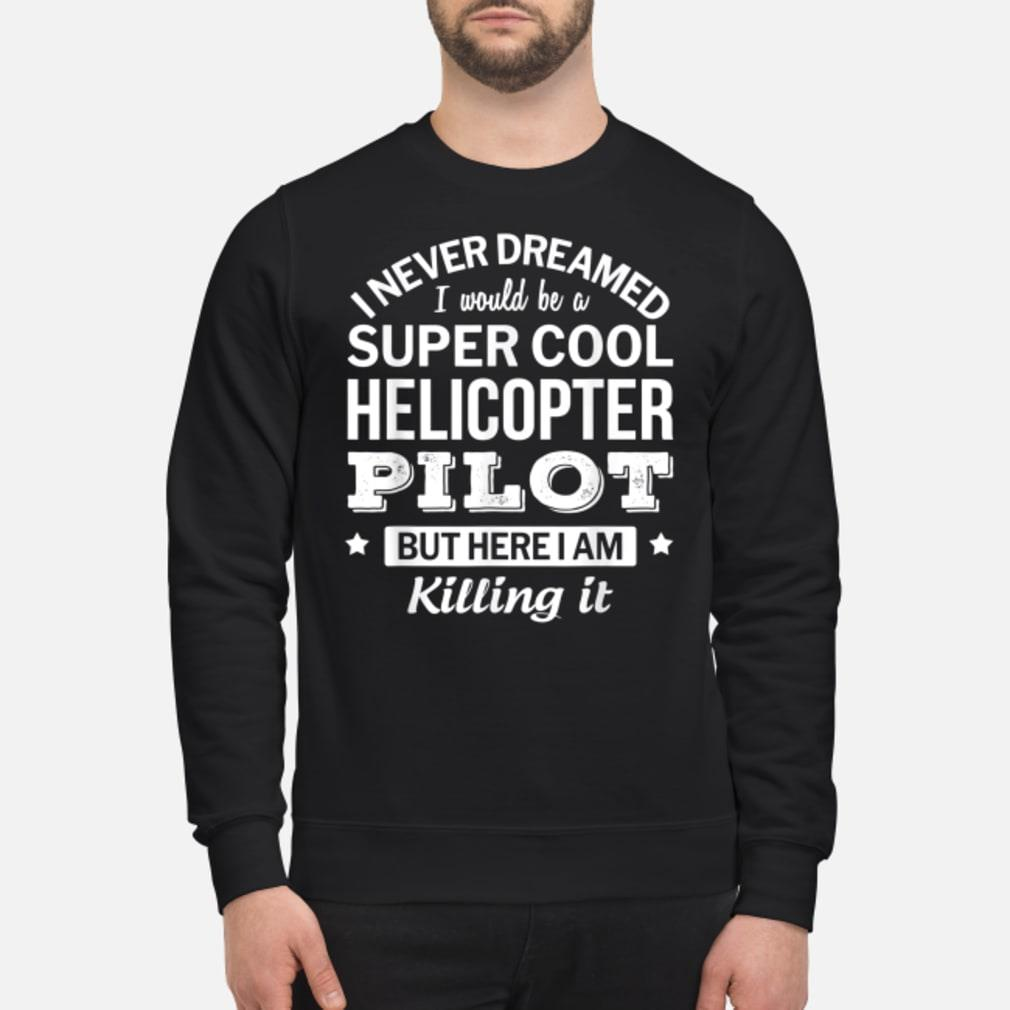 Funny Helicopter Pilot Tshirt Gift Shirt sweater