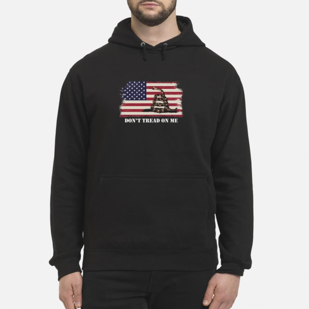 Gadsden flag shirt hoodie