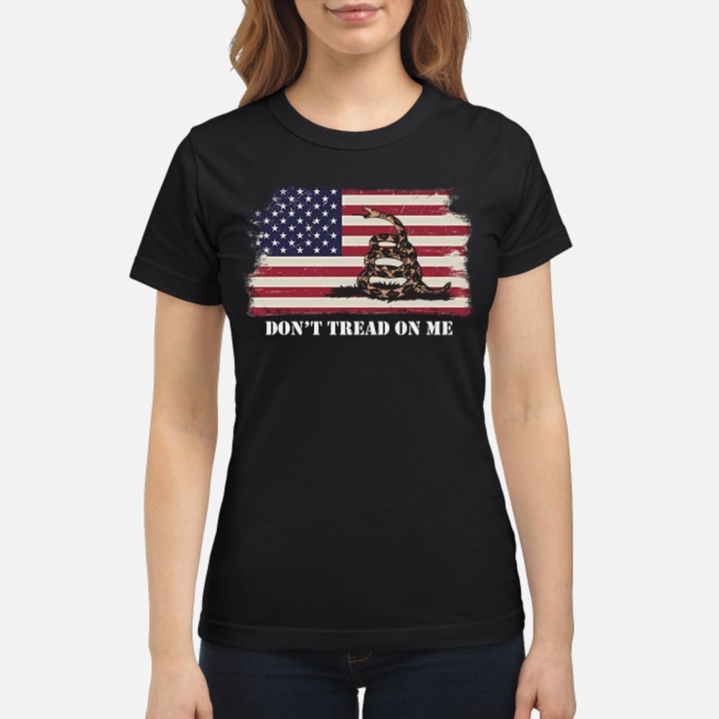 Gadsden flag shirt ladies tee