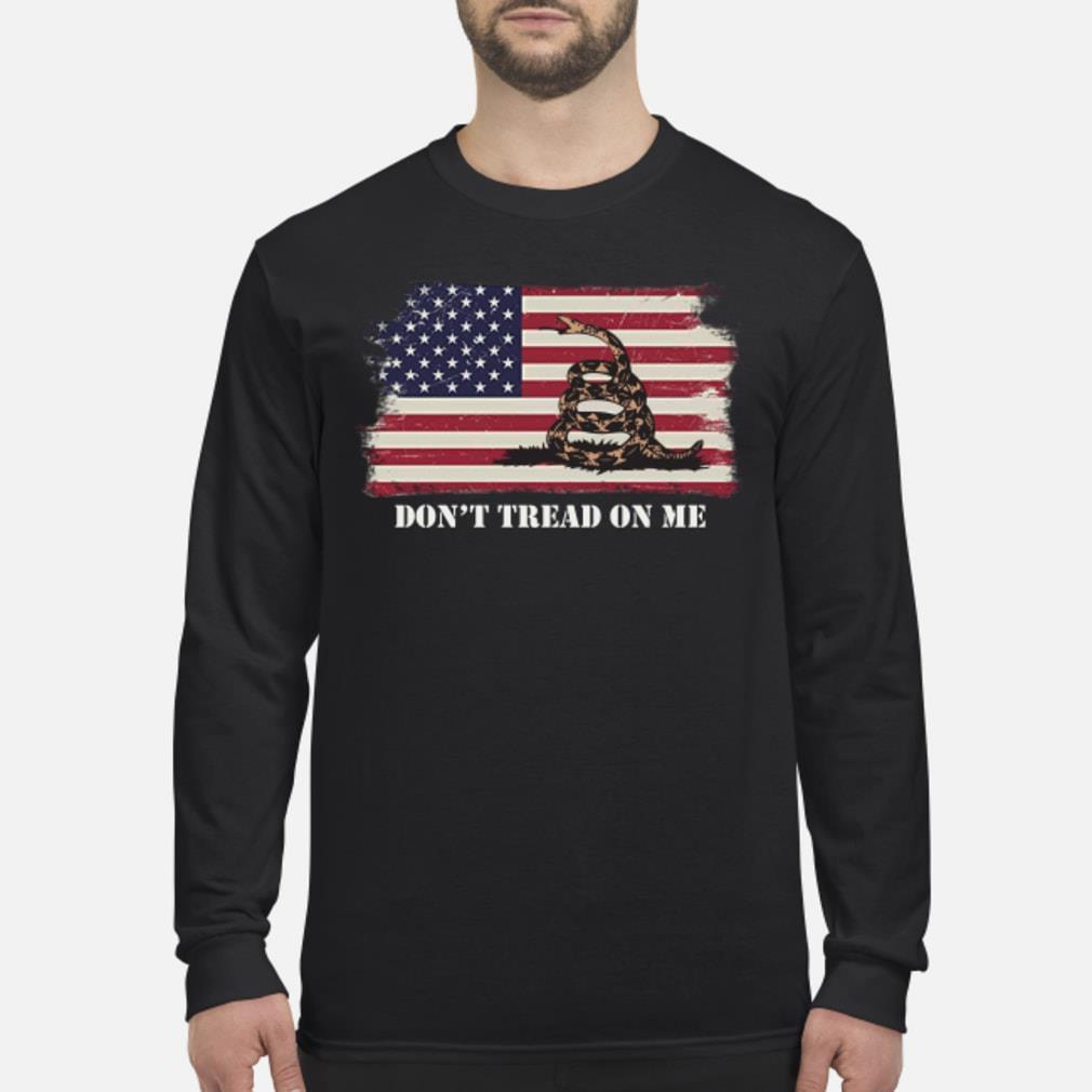 Gadsden flag shirt Long sleeved