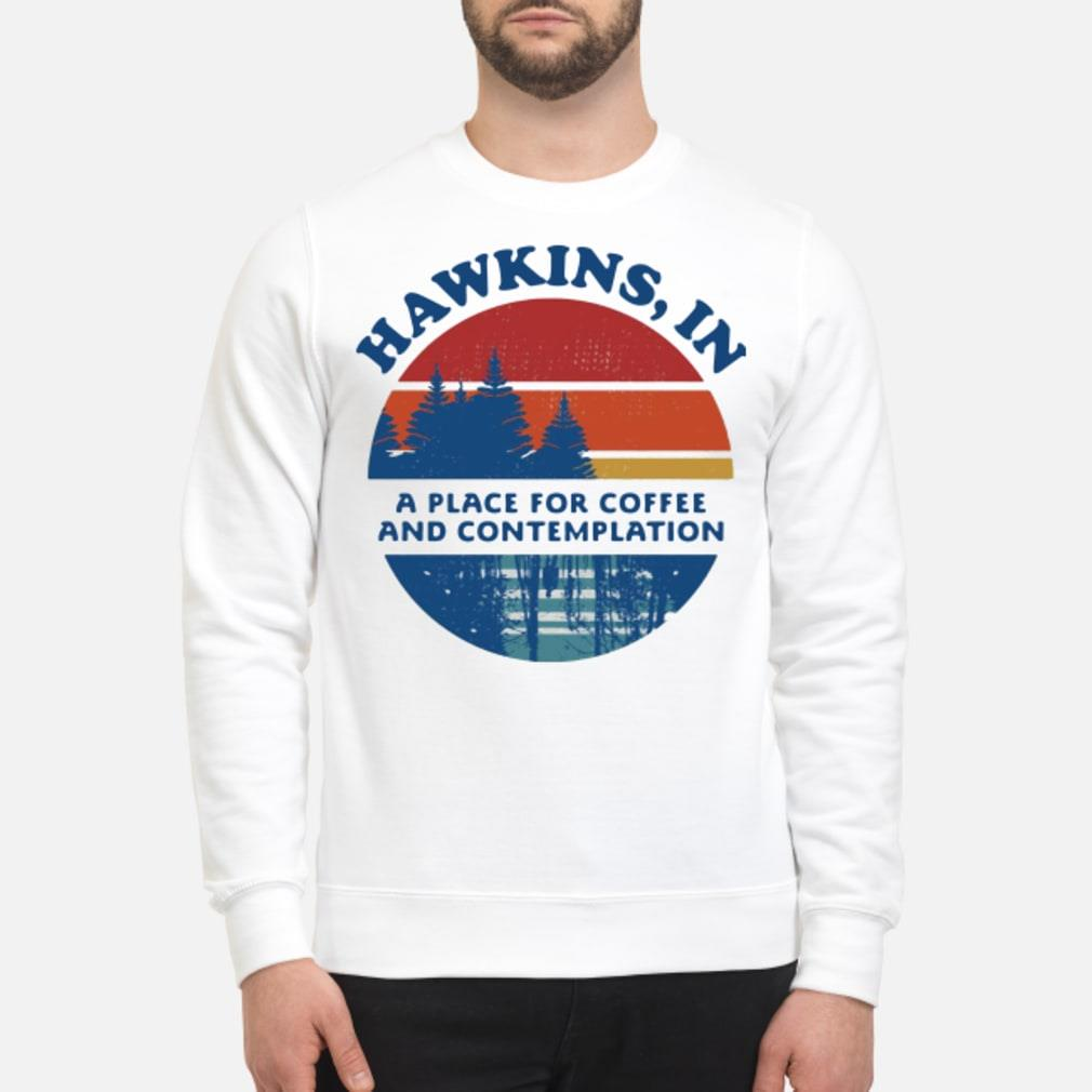 Hawkins in and contemplation shirt sweater