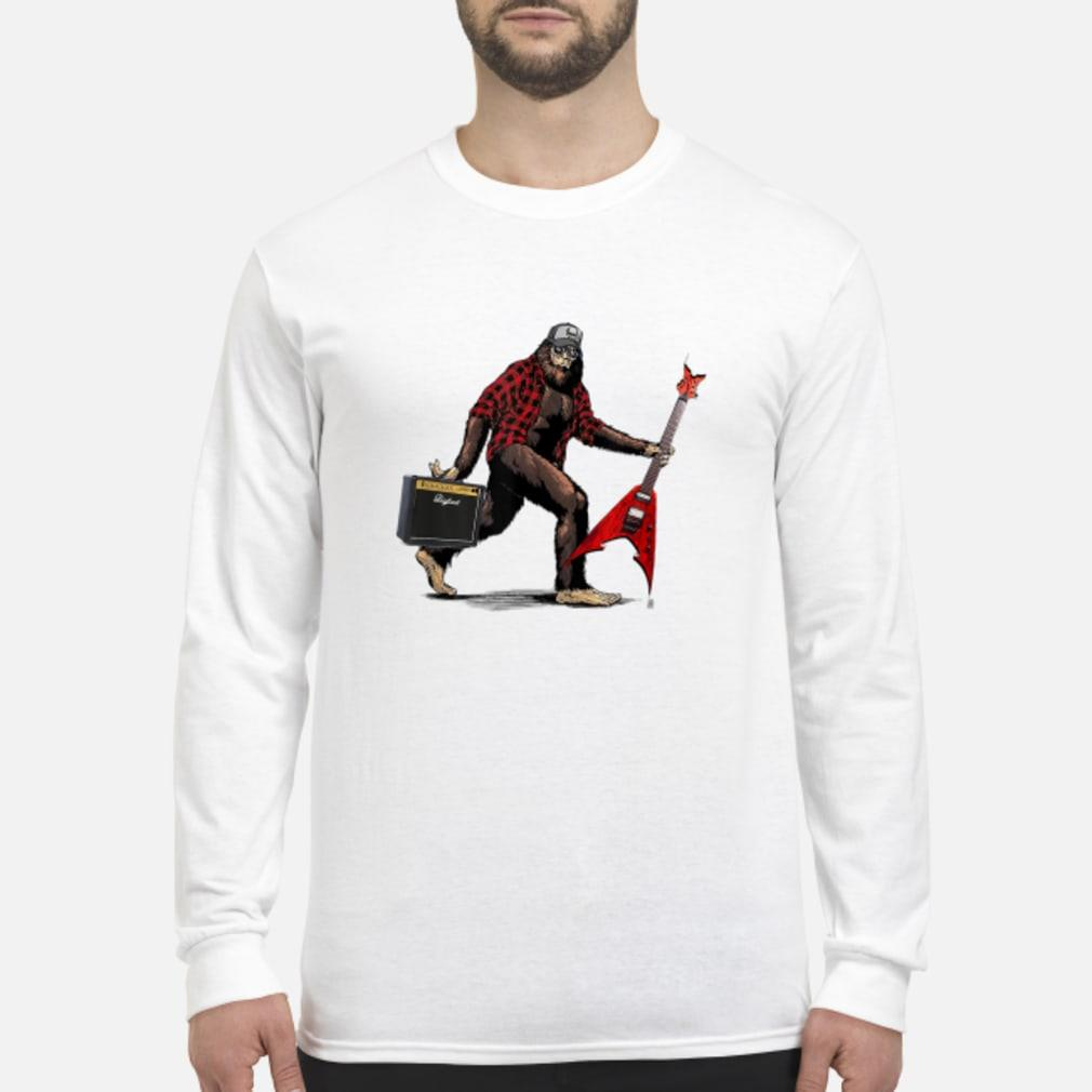 Heavy Metal Bigfoot shirt Long sleeved
