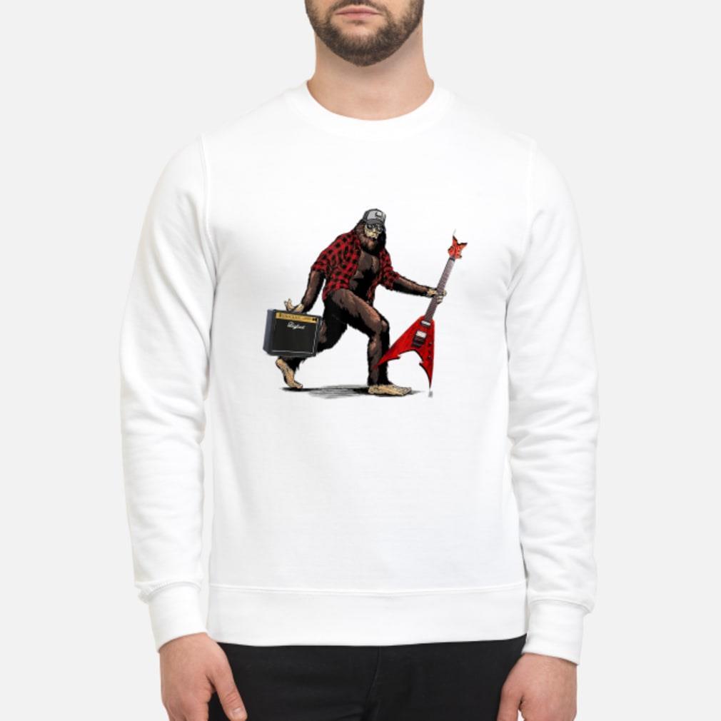 Heavy Metal Bigfoot shirt sweater