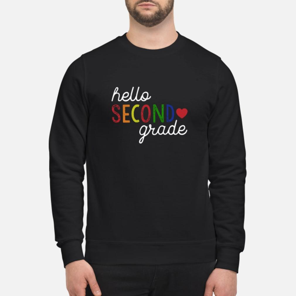 Hello second grade shirt sweater