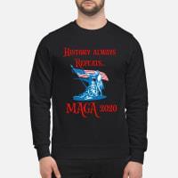 History always repeats Maga 2020 shirt sweater