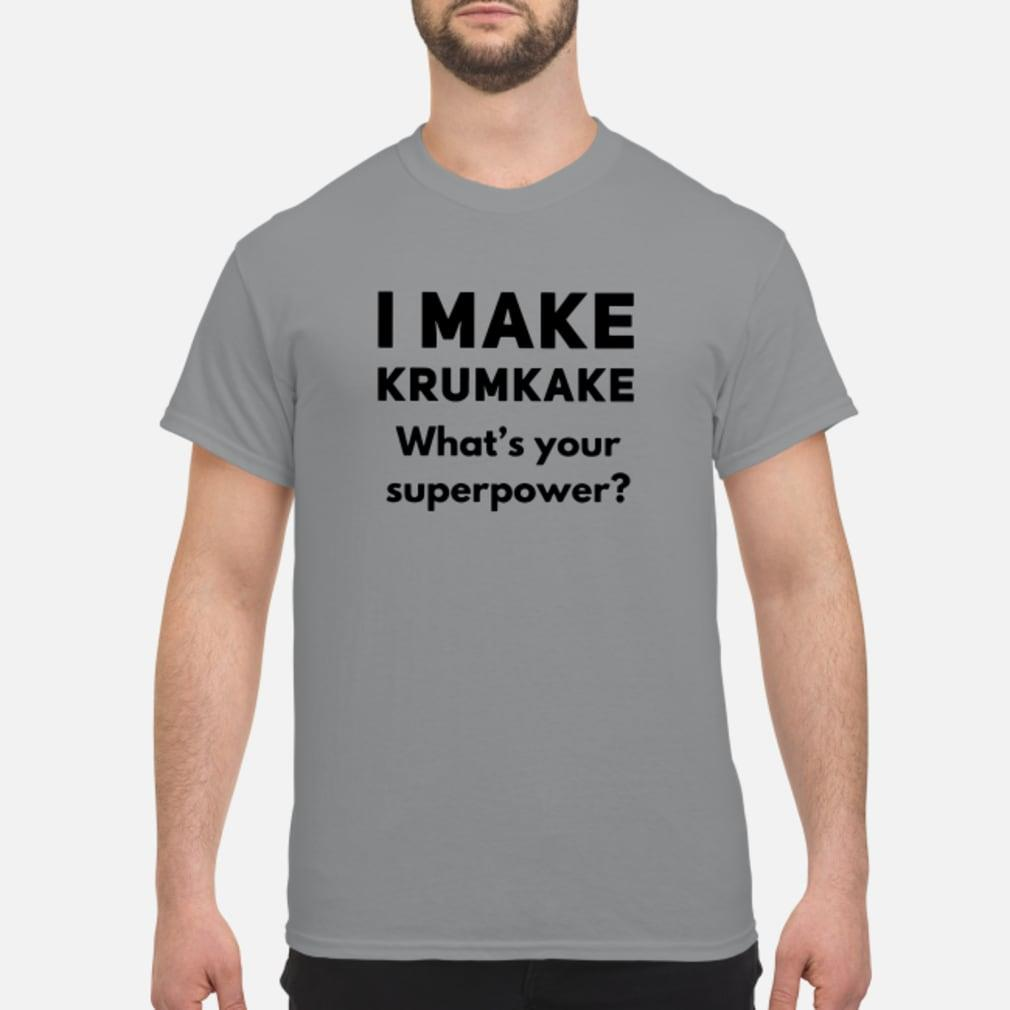 I make krumkake What's your superpower shirt