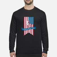 Independence Day shirt Long sleeved