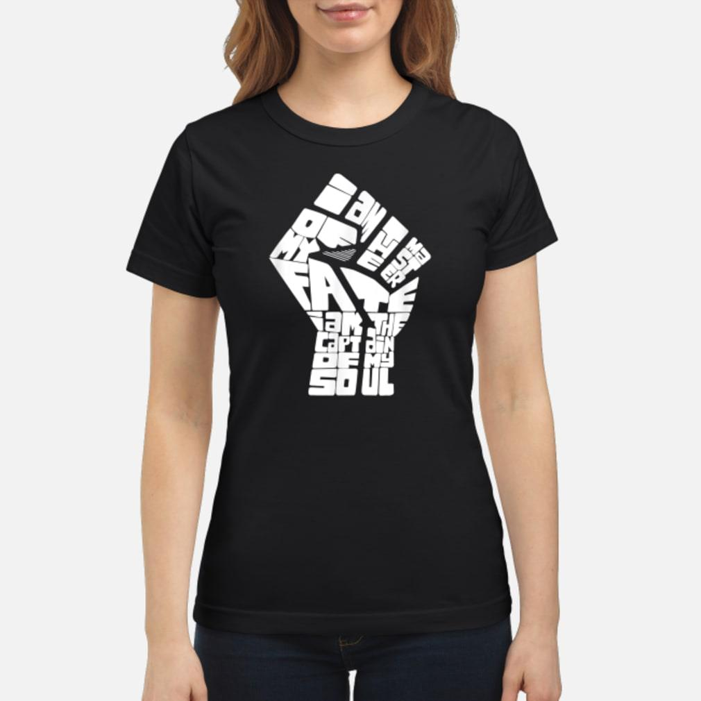 Invictus Poem shirt ladies tee