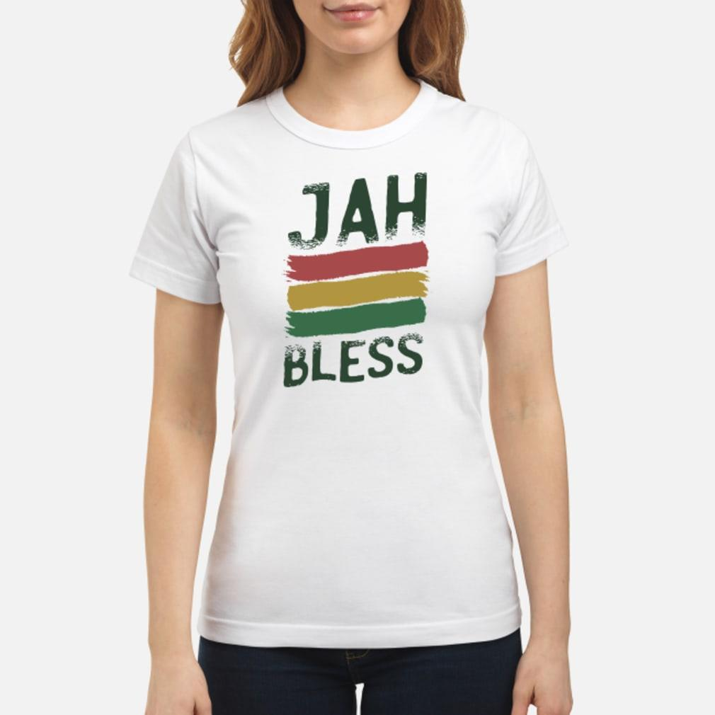 Jah bless shirt ladies tee