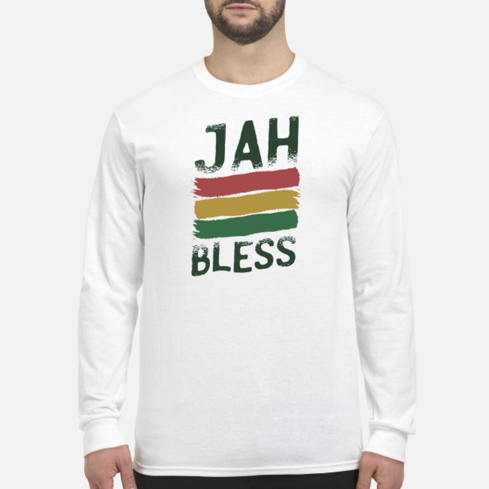 Jah bless shirt Long sleeved