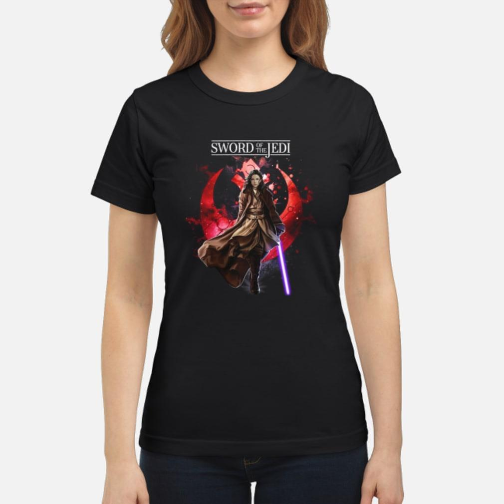 Jaina Solo Sword of the Jedi shirt ladies tee
