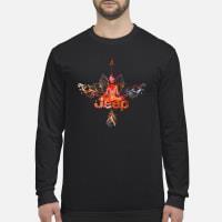Jeep yoga Shirt Long sleeved