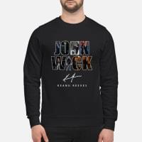 John Wick Keanu Reeves Face T-Shirt sweater