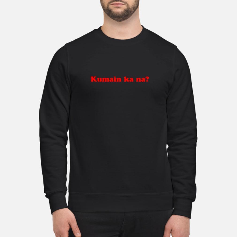 Kumain ka na shirt sweater