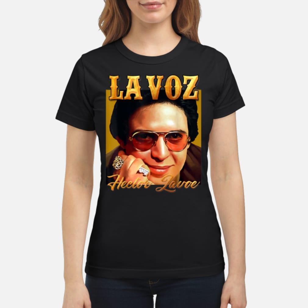 La Voz Hector Lavoe Shirt ladies tee