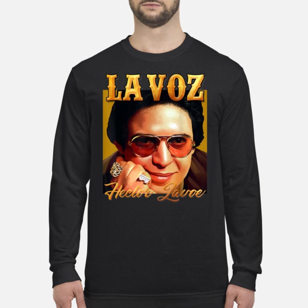 La Voz Hector Lavoe Shirt Long sleeved