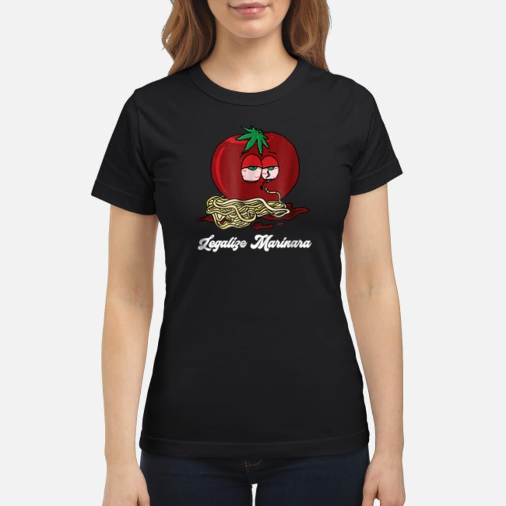 Legalize Marinara T-Shirt ladies tee