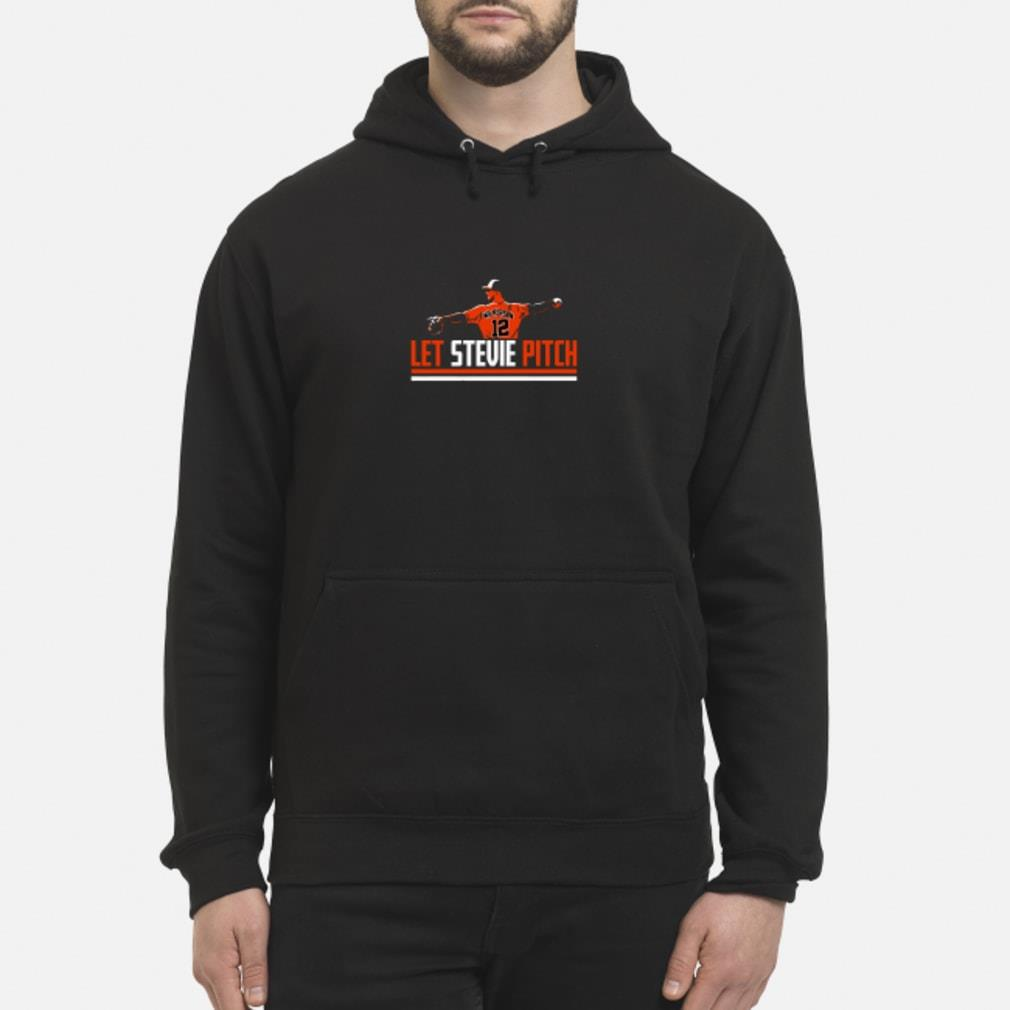 Let Stevie Pitch T Shirt hoodie