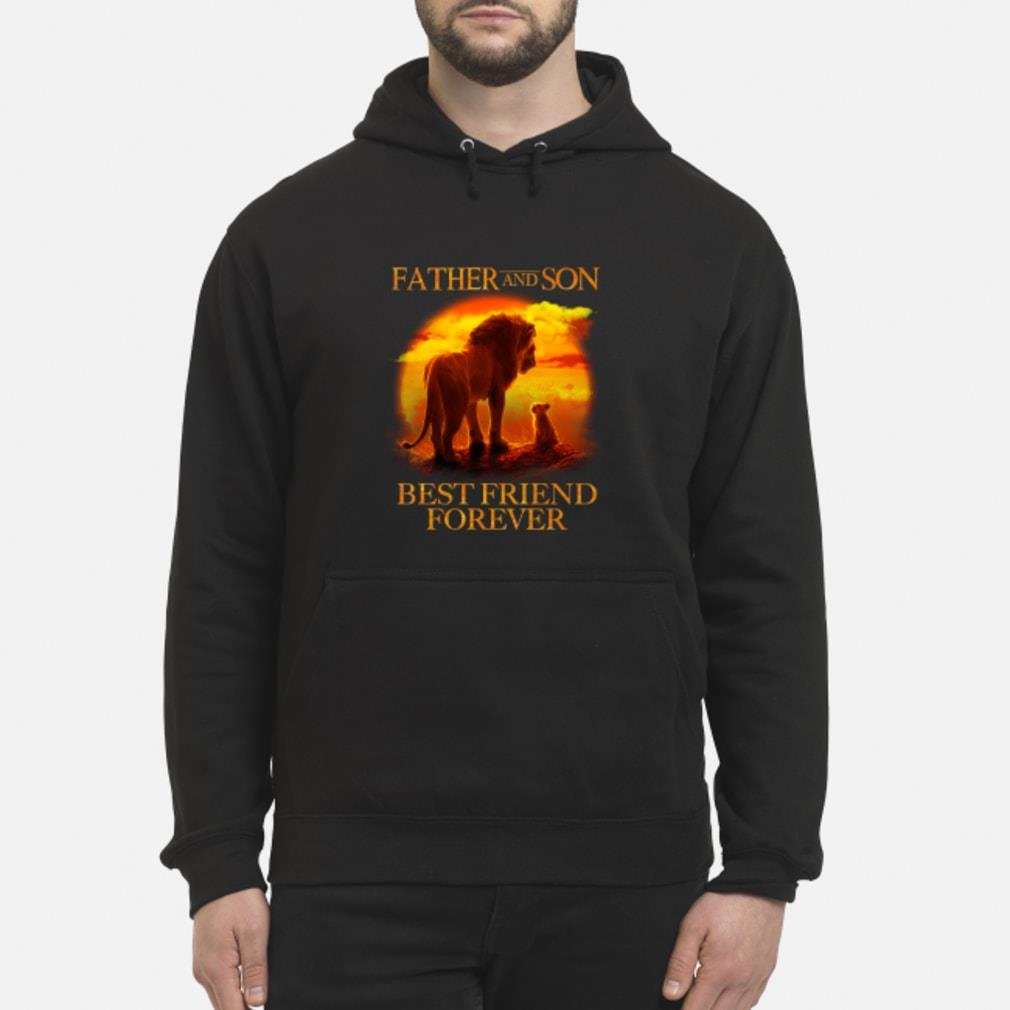 Lion King Father And Son Best Friend Forever Shirt hoodie