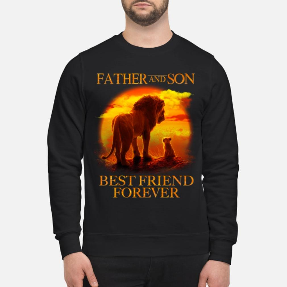 Lion King Father And Son Best Friend Forever Shirt sweater