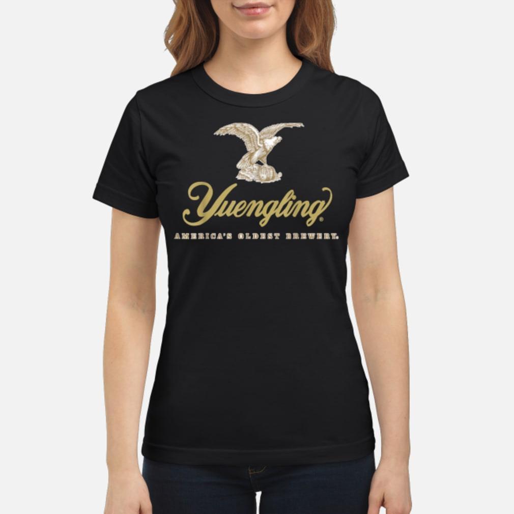 Logo Yuengling Beer Shirt ladies tee