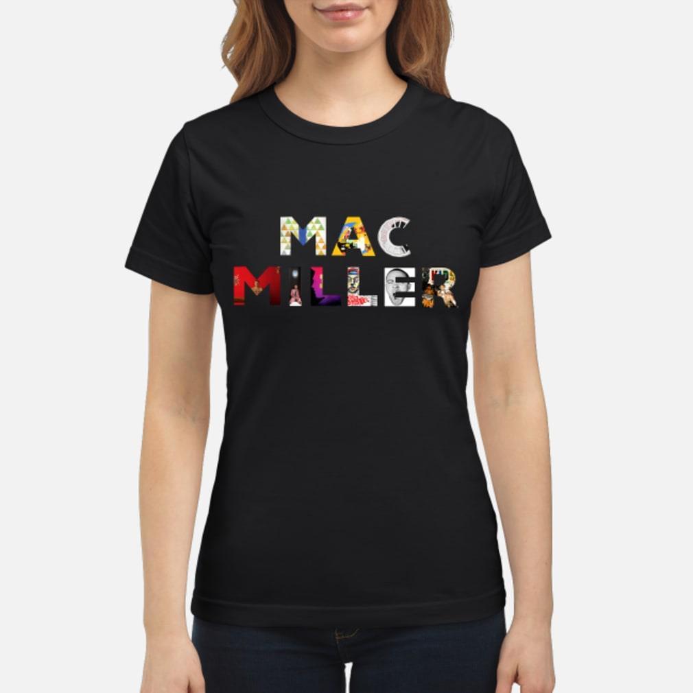 Mac Miller Thank You For The Memories Shirt ladies tee