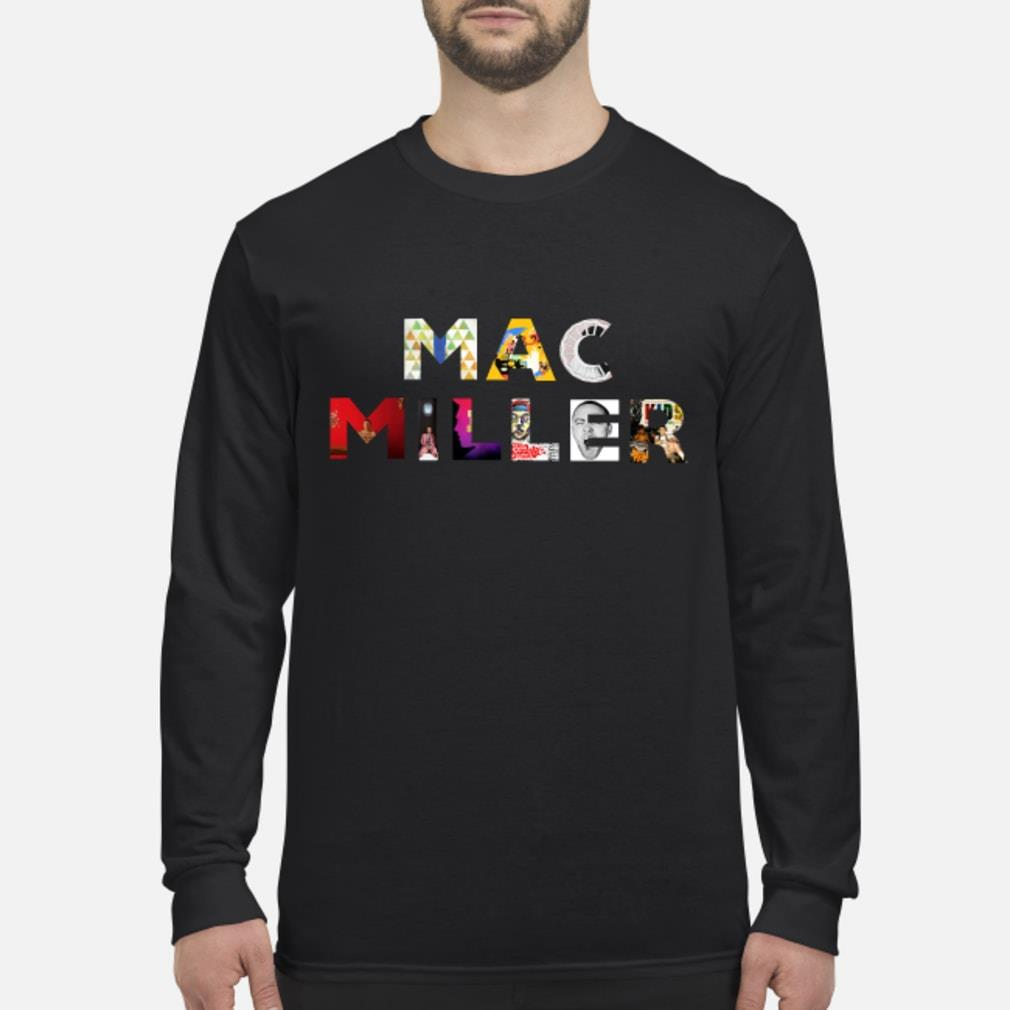 Mac Miller Thank You For The Memories Shirt Long sleeved