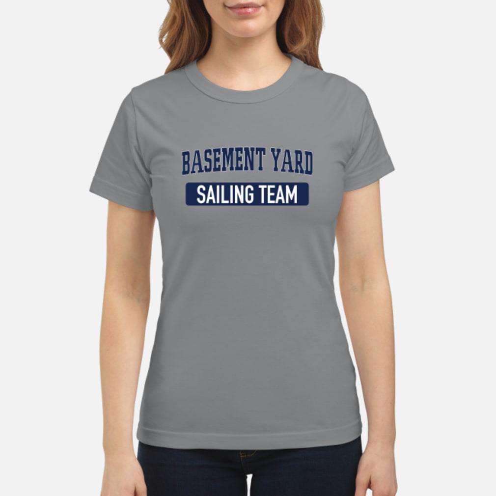 Merch Basement Yard Shirt ladies tee