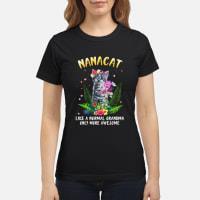 Nanacat undefined shirt ladies tee