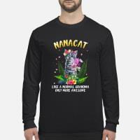 Nanacat undefined shirt Long sleeved