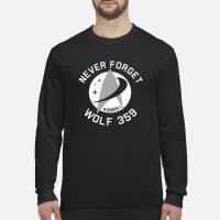 Never Forget 43989 Wolf 359 Shirt Long sleeved