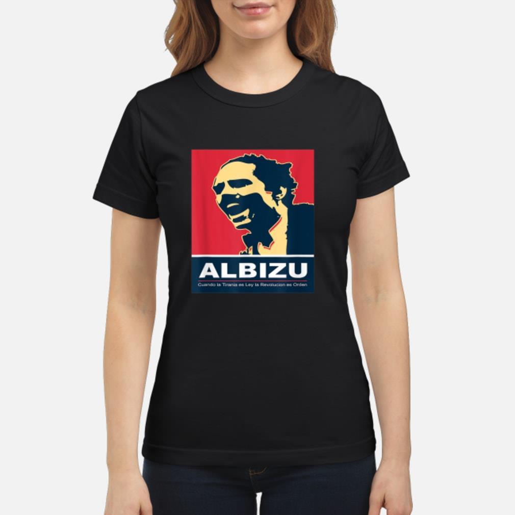 Pedro Albizu Campos T-Shirt ladies tee