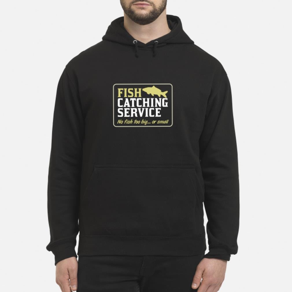 Personalisable Fish Catching Service Shirt hoodie