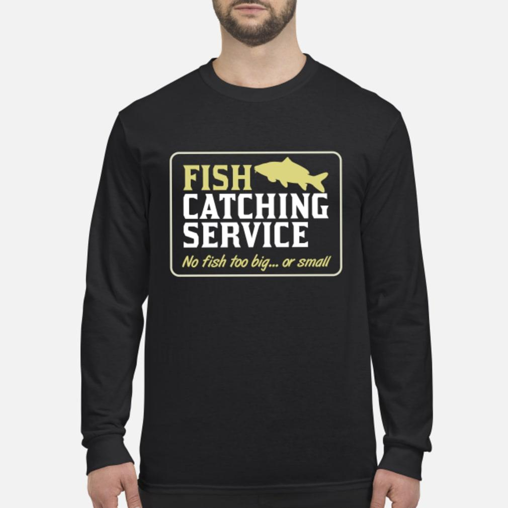 Personalisable Fish Catching Service Shirt Long sleeved