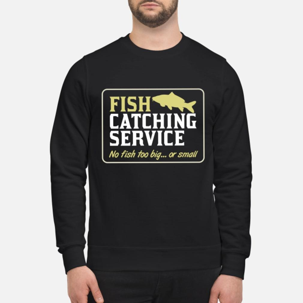 Personalisable Fish Catching Service Shirt sweater