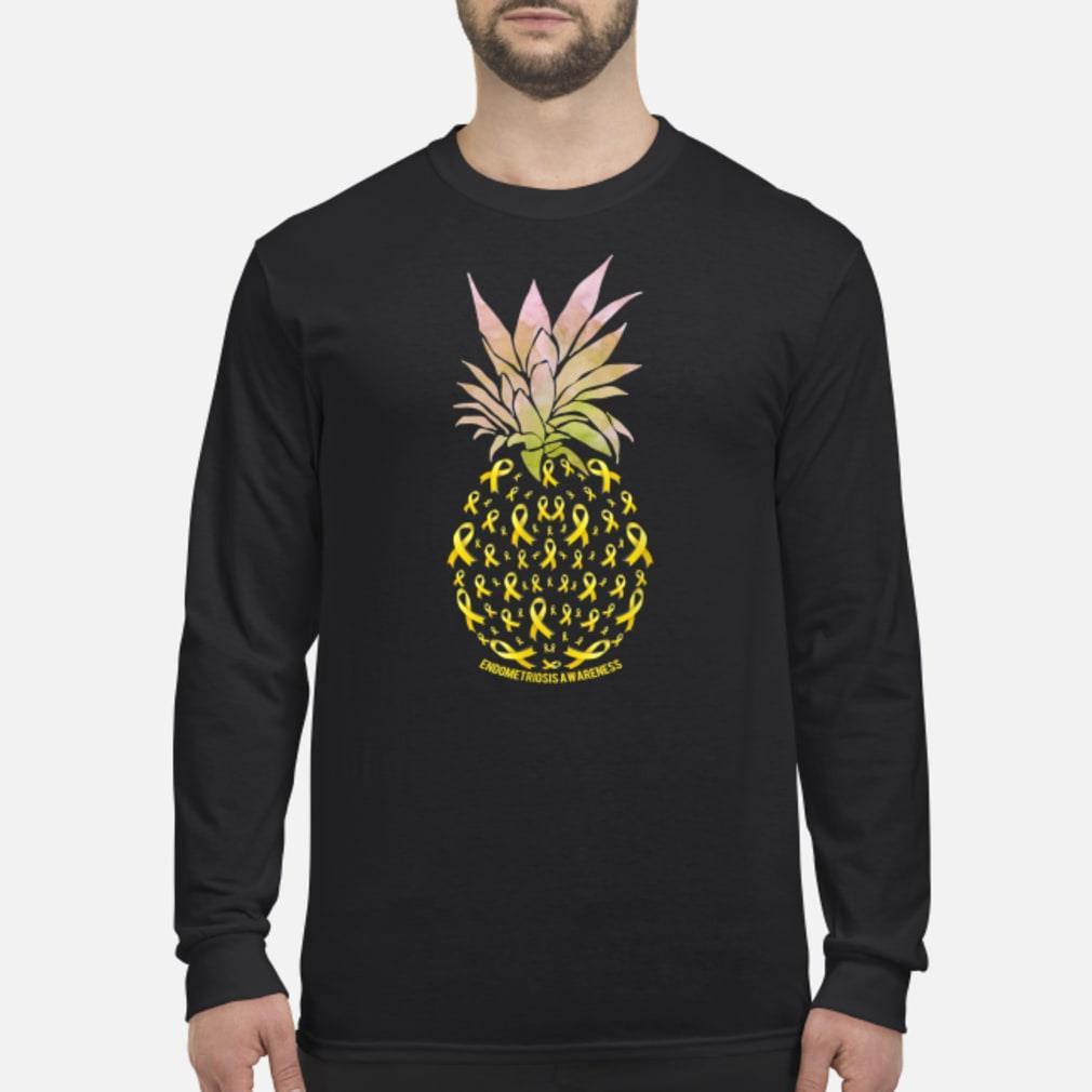 Pineapple Endometriosis AWARENESS shirt Long sleeved