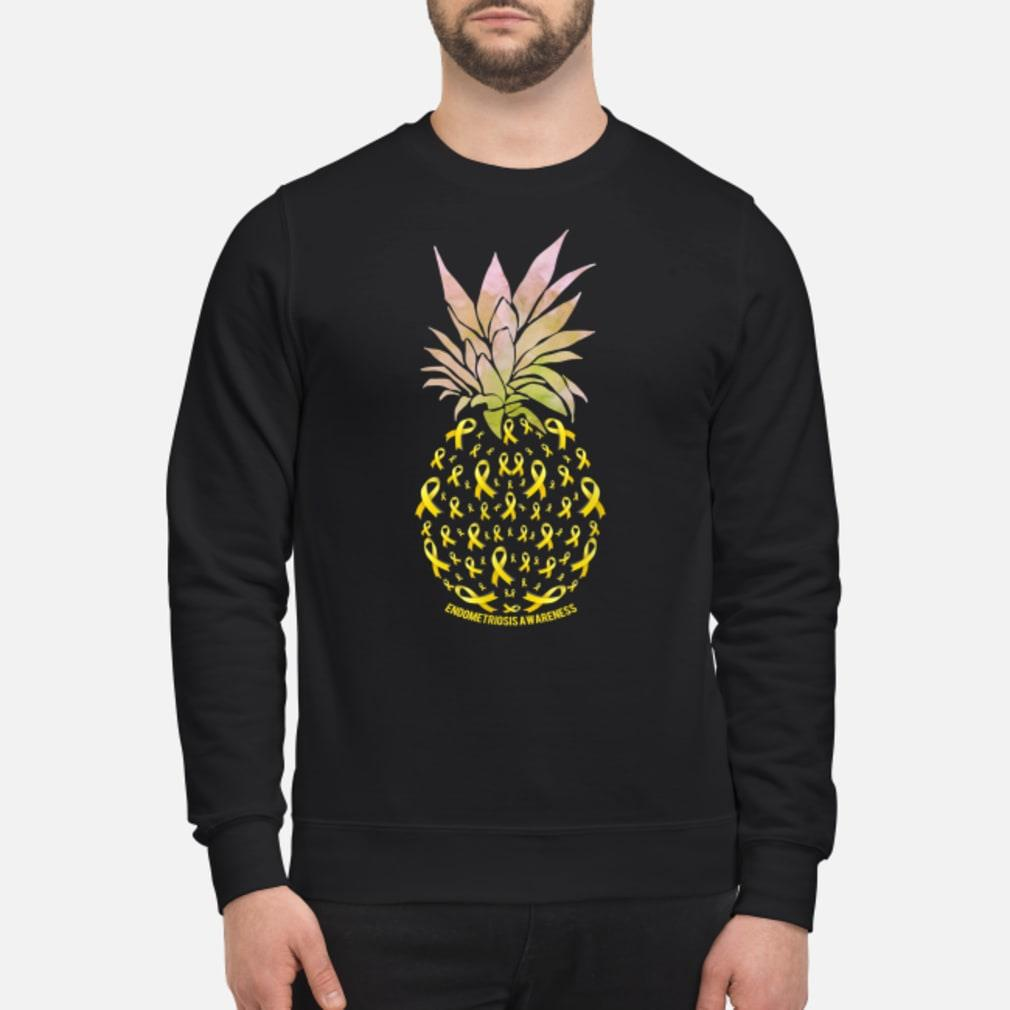 Pineapple Endometriosis AWARENESS shirt sweater