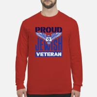 Proud Jewish Veteran shirt long sleeved