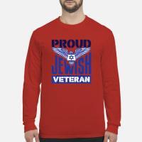 Proud Jewish Veteran shirt long sleeved