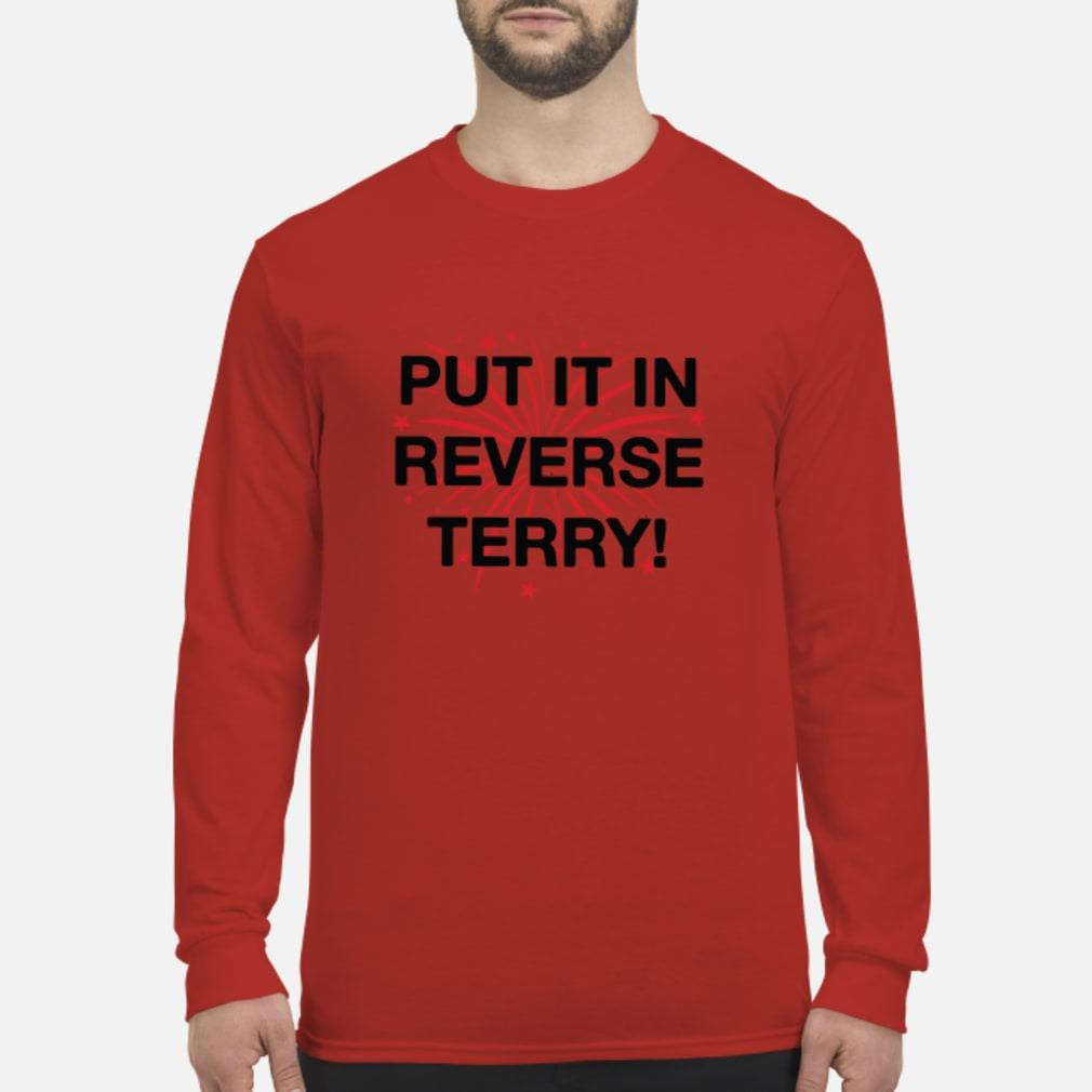 Put it in reverse terry T-Shirt Long sleeved