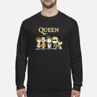 Queen the Peanuts characters shirt long sleeved