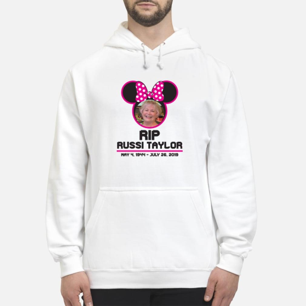 RIP Disney Legend Russi Taylor T Shirt hoodie
