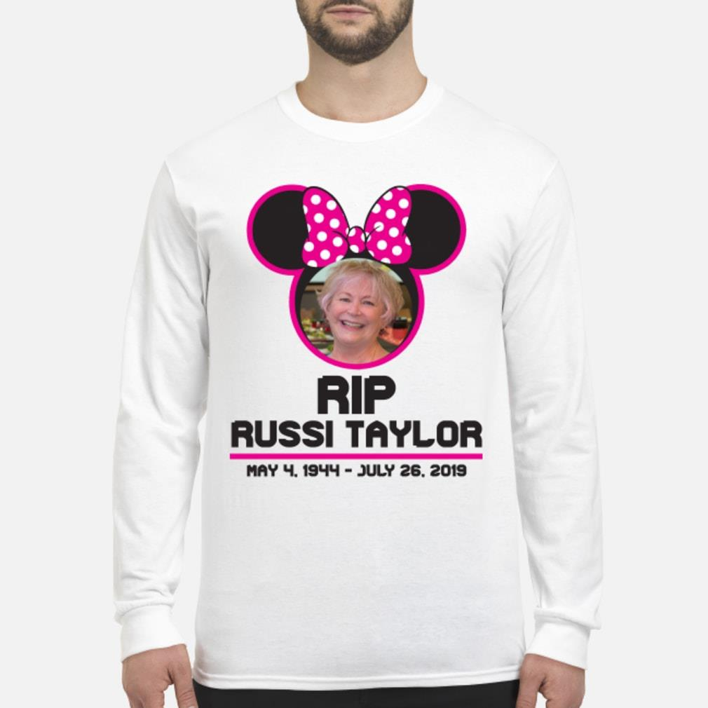 RIP Disney Legend Russi Taylor T Shirt Long sleeved