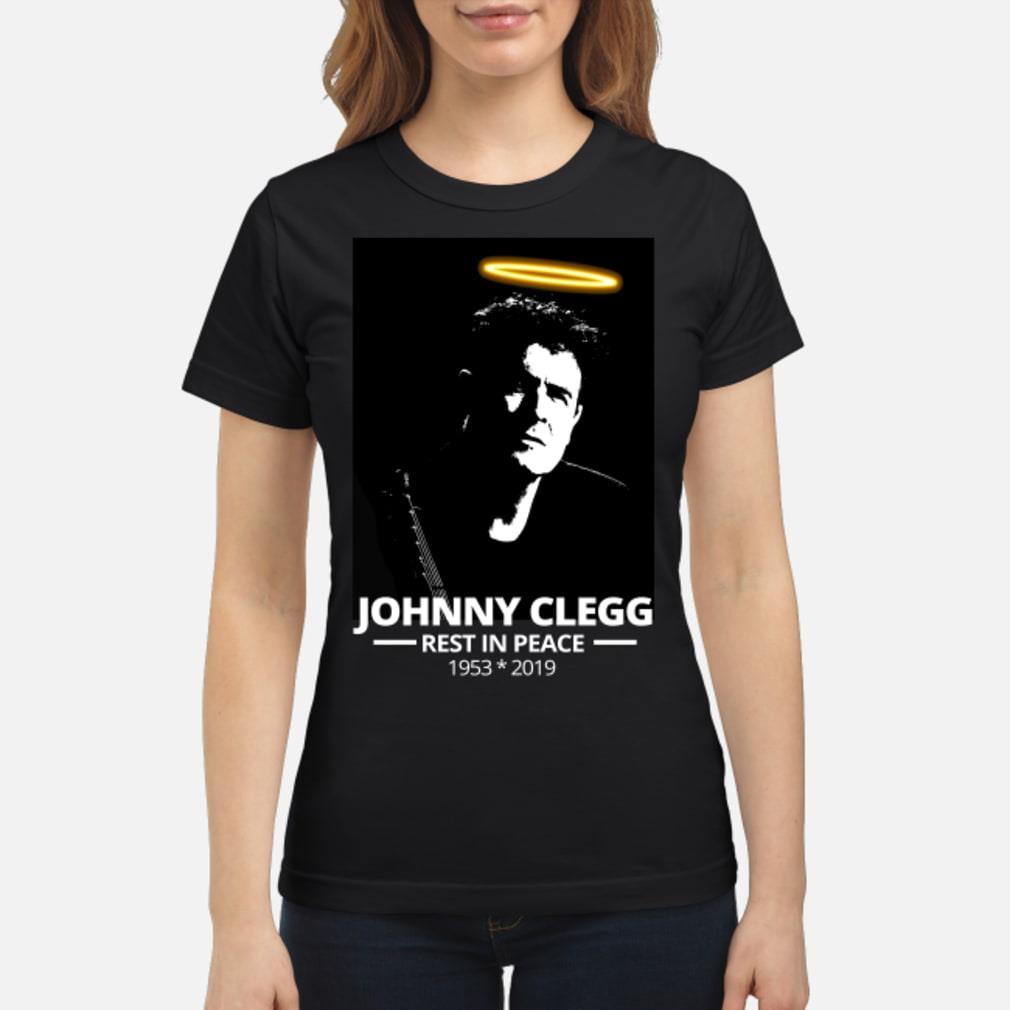 RIP Johnny Clegg T-Shirt ladies tee