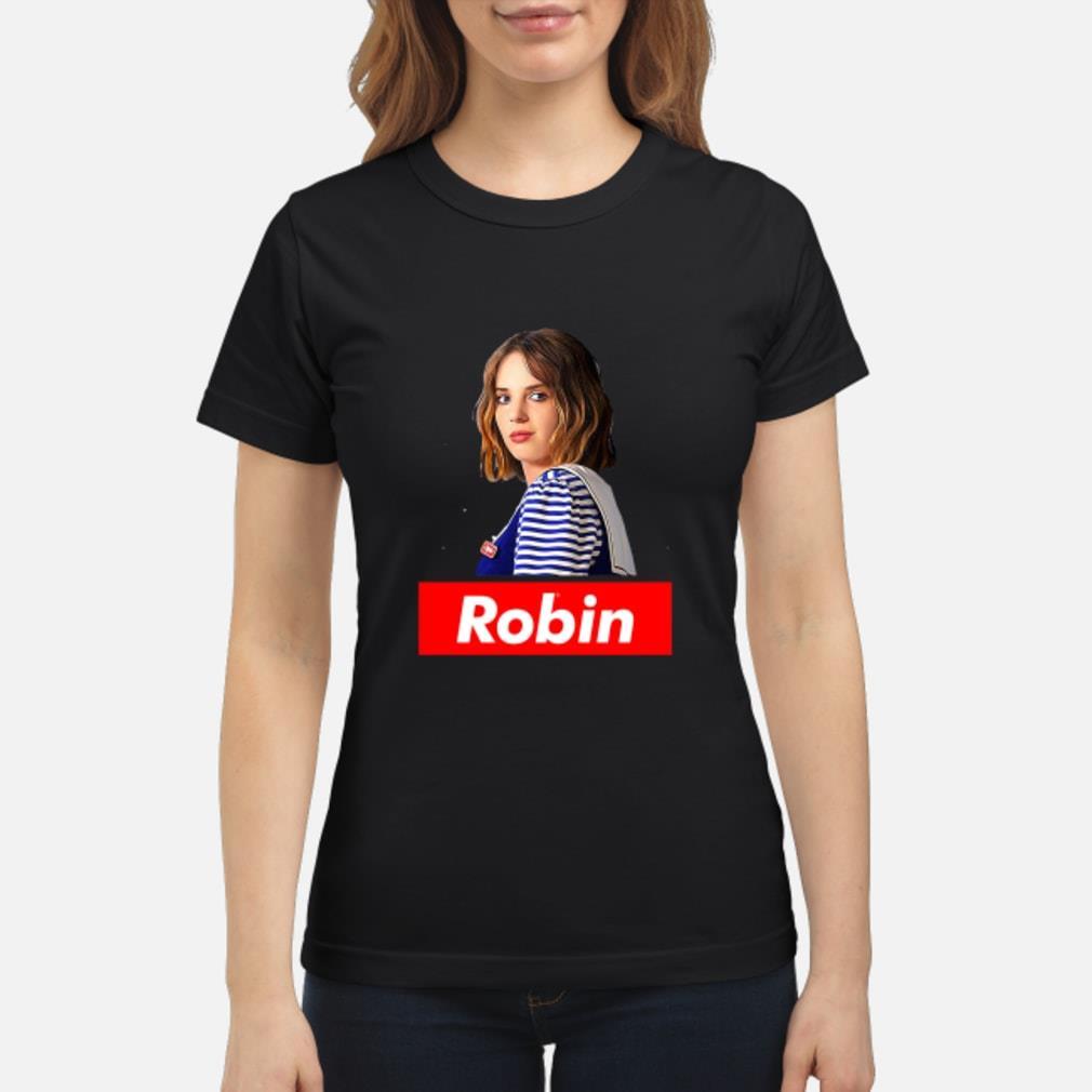 Robin Stranger Things shirt ladies tee
