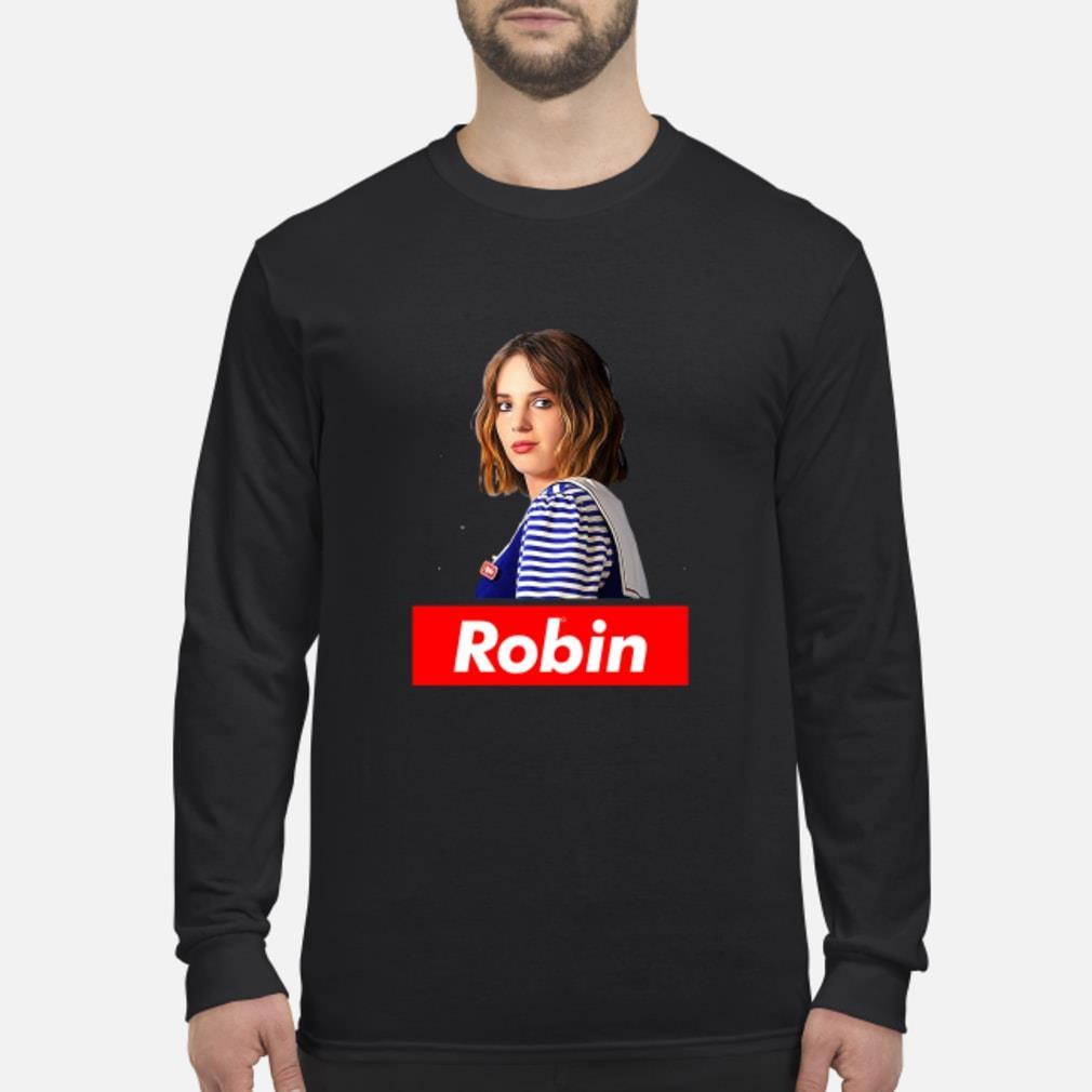 Robin Stranger Things shirt Long sleeved
