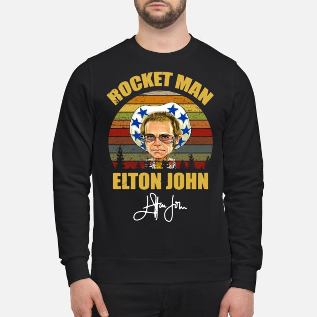 Rocket Man Elton John Signature Sunset shirt sweater
